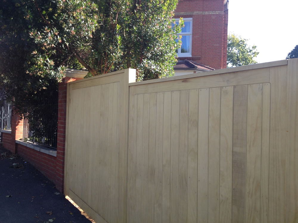 fencing project